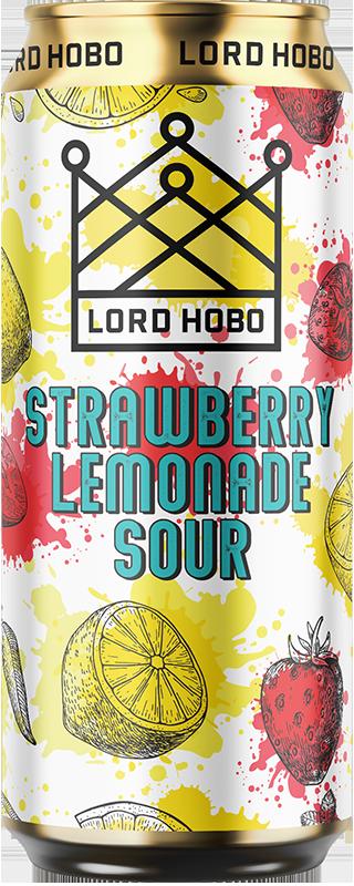 Lord Hobo Beer Strawberry Lemonade Sour