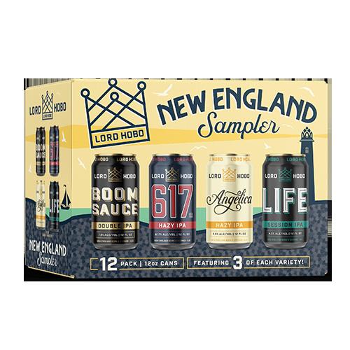 Lord Hobo Beers New England Sampler Pack