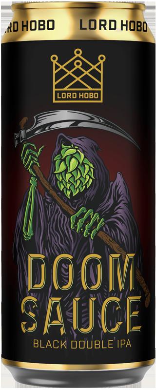 Lord Hobo Beer DoomSauce Double IPA