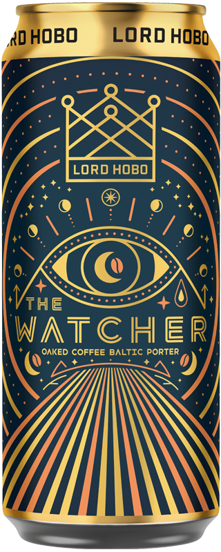 Lord Hobo Beer The Watcher Oaked Coffee Baltic Portor