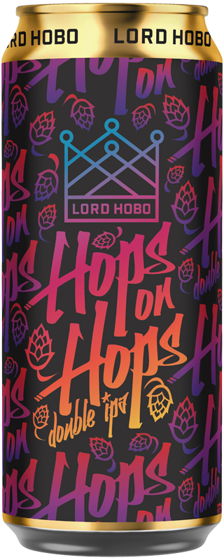 Lord Hobo Beer Hops on Hops Double IPA