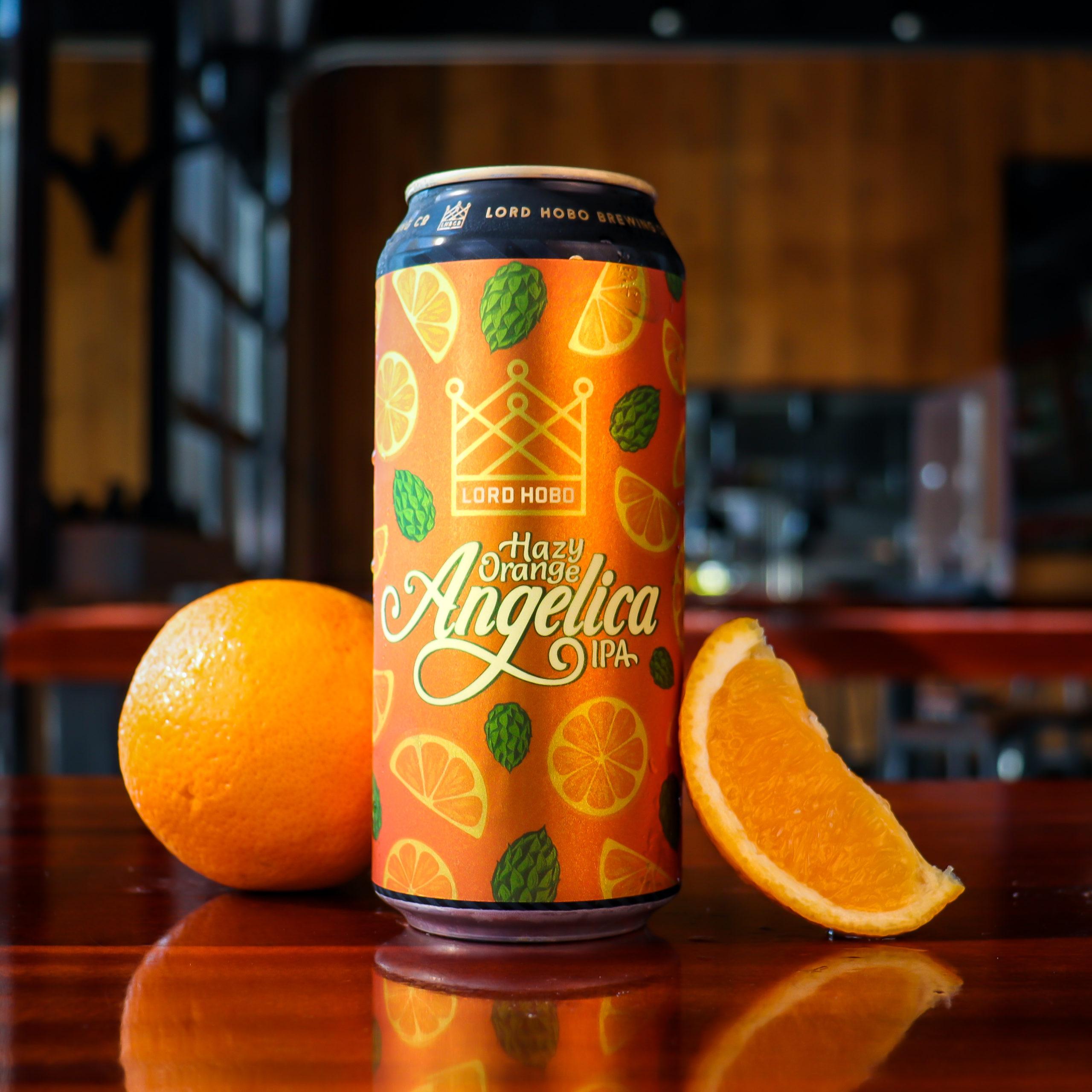 Hazy Orange Angelica - can and oranges square